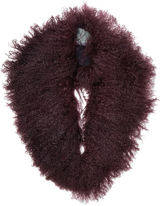 Karl Donoghue Shearling Collar