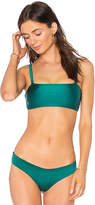 Beach Riot x Revolve Devin Top in Green. - size L (also in M,S,XS)