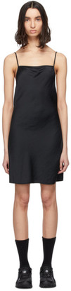 Alexander Wang Black Light Wash and Go Mini Cami Dress
