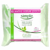 Simple Cleansing Wipes Twin Pack