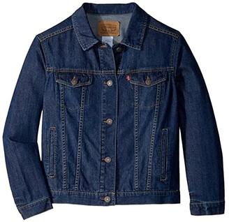 Levi's Kids Lightweight Trucker Jacket (Big Kids) (Siren) Girl's Clothing