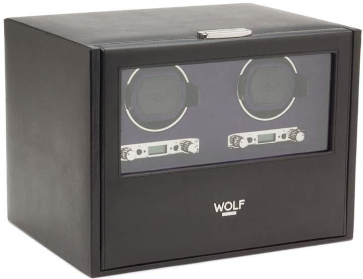 Wolf Blake Double Watch Winder & Case