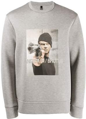 Neil Barrett graphic sweatshirt