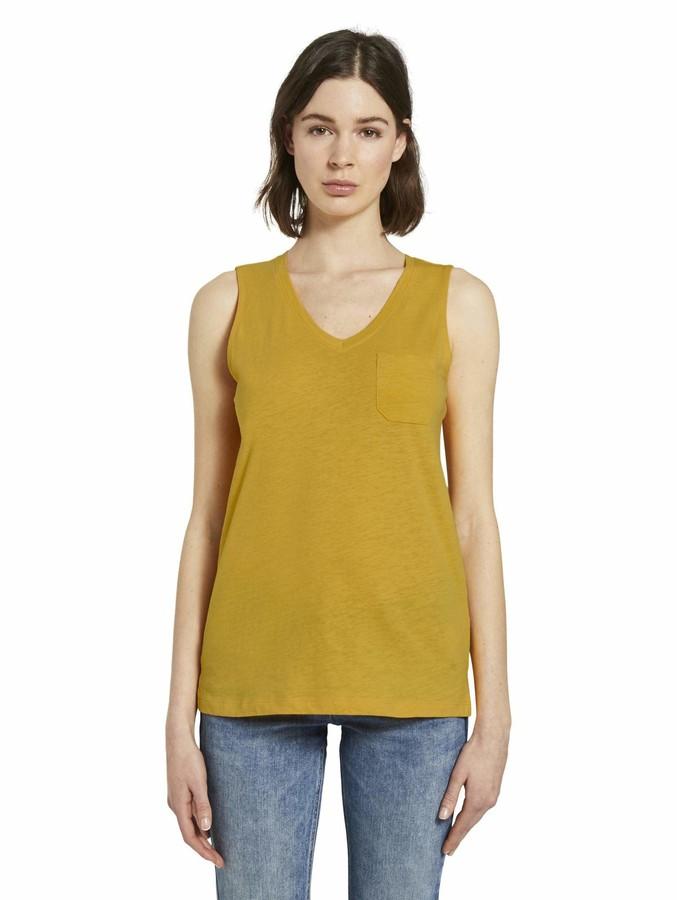 Thumbnail for your product : Tom Tailor Women's V-Ausschnitt T-Shirt