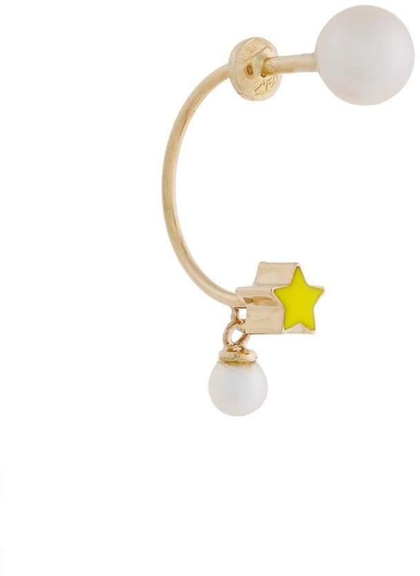 Delfina Delettrez 18kt gold Ana earring