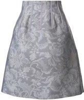 Oscar de la Renta floral print skirt