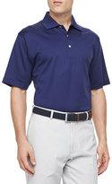 Peter Millar Short-Sleeve Polo, Navy