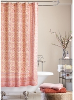 Jessica Simpson Mosaic-Tile Shower Curtain