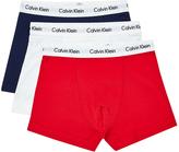 Calvin Klein Underwear Cotton Stretch 3 Pack Trunk Multi
