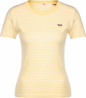 Levi's SS Rib Baby t-Shirt Yellow