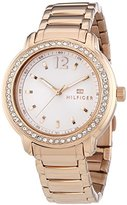 Tommy Hilfiger Three-Hand Rose-Gold Stainless Steel Women's watch #1781468