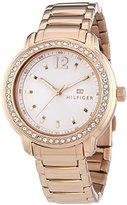 Tommy Hilfiger Three-Hand Rose-Gold Stainless Steel Women's watch #1781468