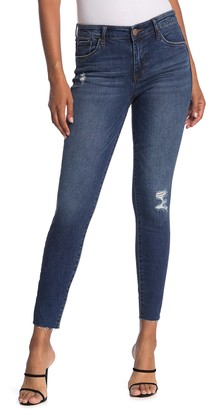 STS Blue Ellie High Rise Cropped Skinny Jeans