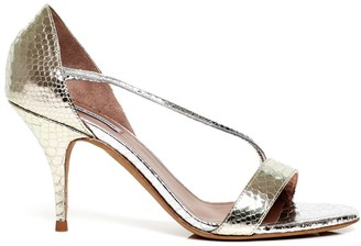 Tabitha Simmons Nile snake-effect sandals