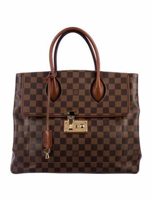 Louis Vuitton Damier Ebene Ascot Bag Brown