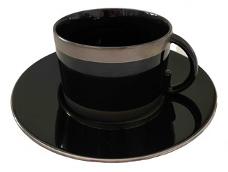 Gucci Black Porcelain Dinnerware