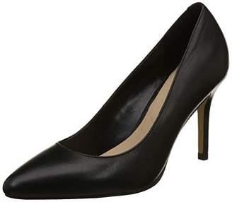 Aldo Women's Kediredda Closed-Toe Heels, Black Leather, 39 EU