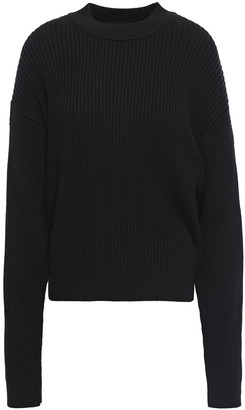 BA&SH Zala Ribbed Wool-blend Sweater