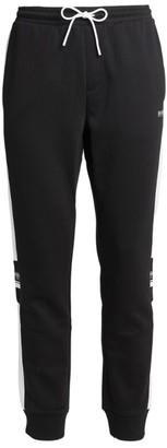 HUGO BOSS Contrast Stripe Logo Sweatpants
