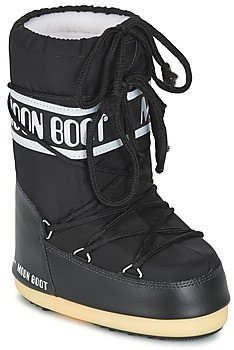 Moon Boot NYLON girls's Snow boots in Black