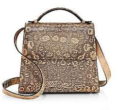 Hunting Season Women's Small Lizard Top Handle Bag