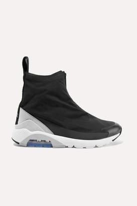 Nike Ambush Air Max 180 Hi Suede-trimmed Ripstop Sneakers - Black