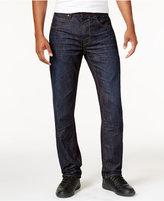 Sean John Men's Big & Tall Bedford Slim-Straight Fit Flap-Pocket Jeans