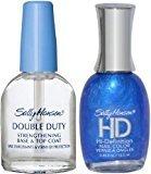 Sally Hansen HD Hi-Definition Nail Color 02 BLUE Plus DOUBLE DUTY (COMBINATION)
