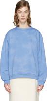 Acne Studios Blue Fint Bear Pullover