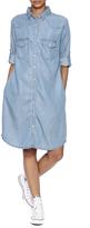 KUT from the Kloth Chambray Shirtdress
