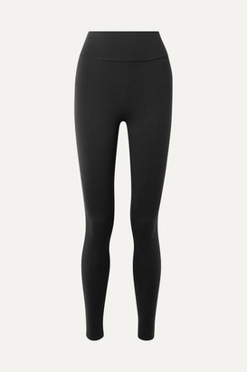 Live The Process Tuxedo Stretch-supplex Leggings - Black
