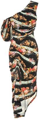Preen by Thornton Bregazzi Kristen floral stretch crepe dress