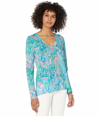 Lilly Pulitzer Women's ETTA Long Sleeve TOP