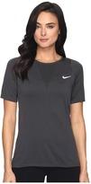 Nike Zonal Cooling Relay Short Sleeve Running Top Women's Clothing
