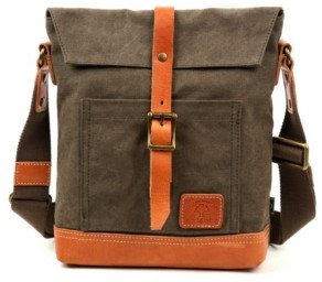 Tsd Brand Pine Hill Canvas Crossbody Bag