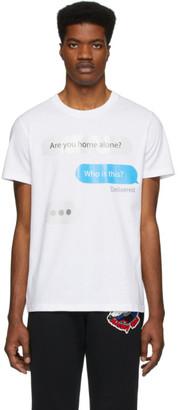 Moschino White Chat T-Shirt