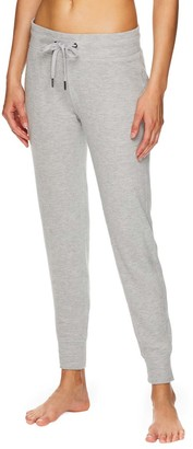 Gaiam Women's Sweatpants GREY - Gray Heather Skinny Elle Joggers - Women