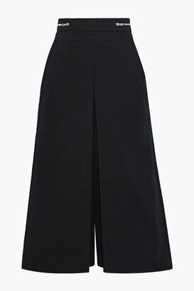 Proenza Schouler Zip-detailed Cotton-twill Culottes