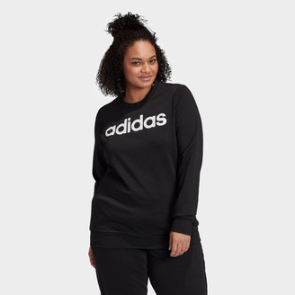 adidas Women's Essentials Crewneck Sweatshirt (Plus Size)