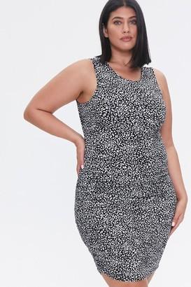 Forever 21 Plus Size Cheetah Print Mini Dress