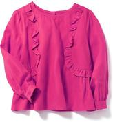 Old Navy Ruffle-Trim Swing Blouse for Toddler