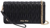 Miu Miu Mini Quilted Leather Shoulder Bag