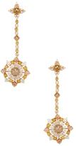 Artisan 18K Rose Gold & 8.20 Total Ct. Diamond Drop Earrings