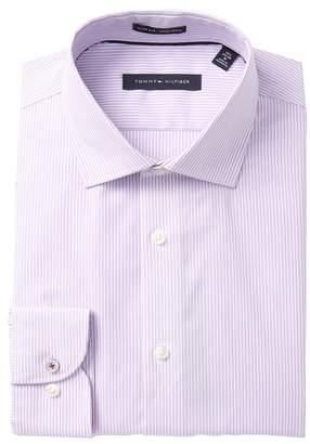 Tommy Hilfiger Stripe Slim Fit Dress Shirt
