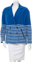 Boy By Band Of Outsiders Striped Double-Breasted Jacket