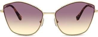 Miu Miu Angular Gradient Sunglasses