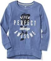 Old Navy Relaxed Graphic Cocoon Tunic for Girls