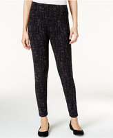 Style&Co. Style & Co. Printed Leggings, Only at Macy's