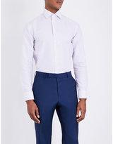Armani Collezioni Checked Modern-fit Cotton Shirt