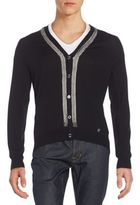 Versace Chain Cardigan